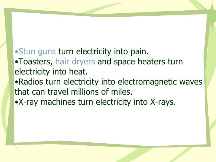 Basic Electrical Theory Bitter