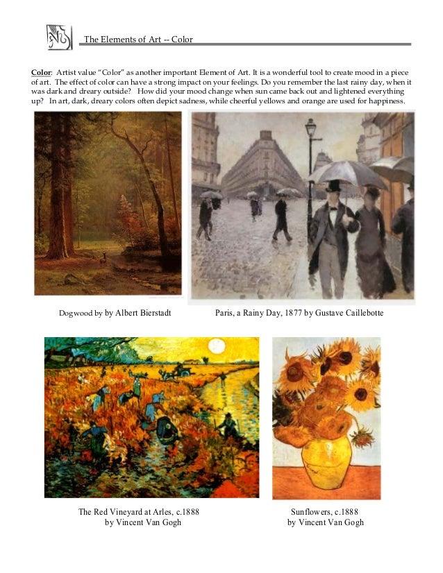Basic Elements Of Art : Basic elements of arts