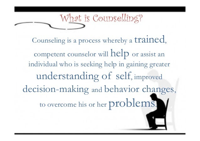 elements of counseling Training aims, competencies, and elements competency # 1: ethical and  legal standards aim: interns will develop knowledge and professional.