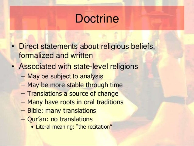 The basic elements of ancient religions