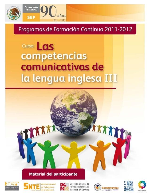 El curso Las Competencias Comunicativas de la Lengua Inglesa, BASIC ENGLISH 3, fue elaborado porla Facultad de Estudios Su...
