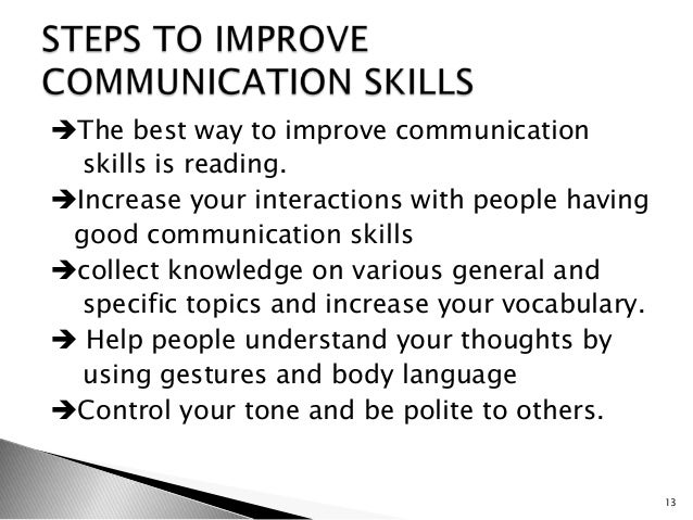 communication skills are important to people