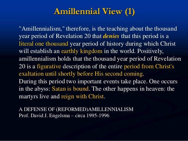An overview of eschatology a doctrine about the second coming of christ