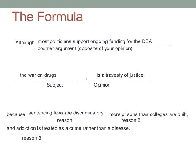 ap thesis statement formula Formulating a strong thesis statement for ap history wording – but for now, stick to this formula example: evaluate the main causes of world war 1.