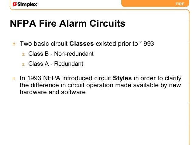 back to basics rh slideshare net fire alarm wiring classes and styles fire alarm circuit styles
