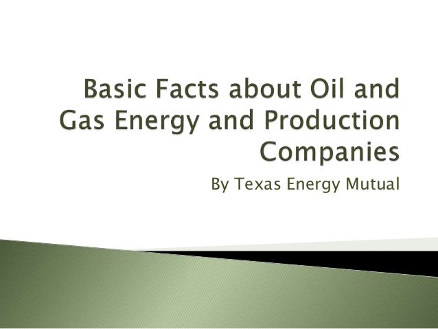 and companies domination Facts oil about