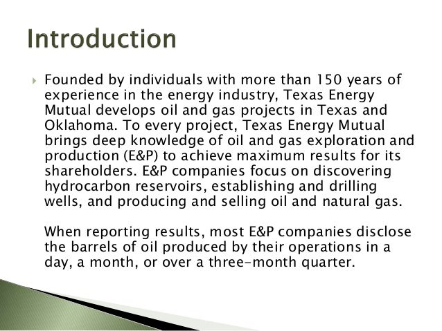 Natural Gas In Oklahoma Facts