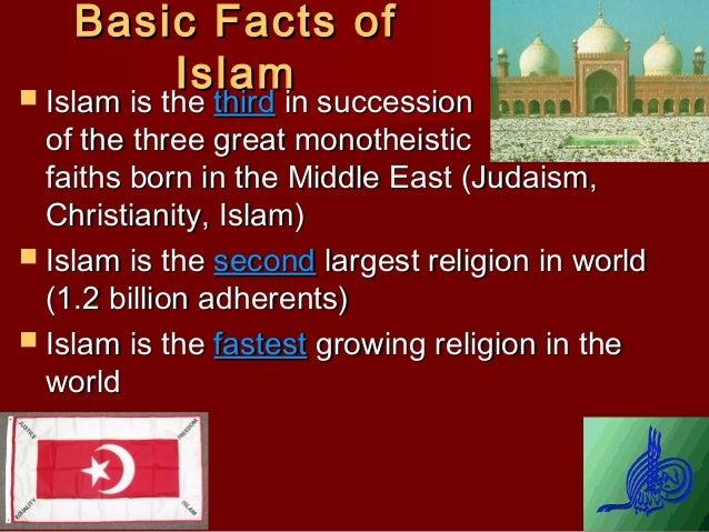 Basic facts of islam Slide 2