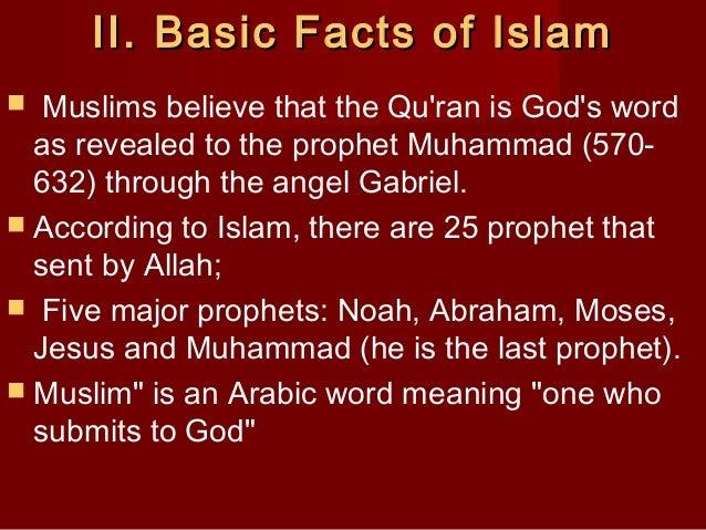 Basic facts of islam Slide 3