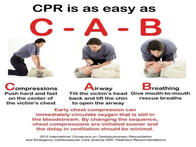 Basic first aid presentation.