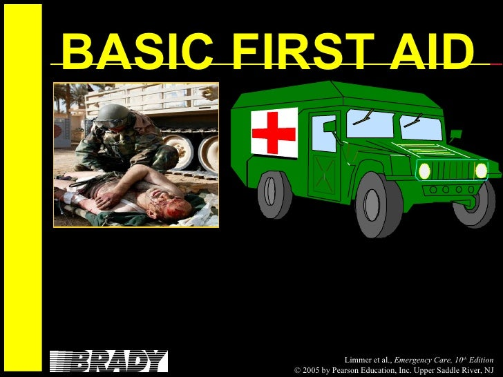 Basic first aid with cpr