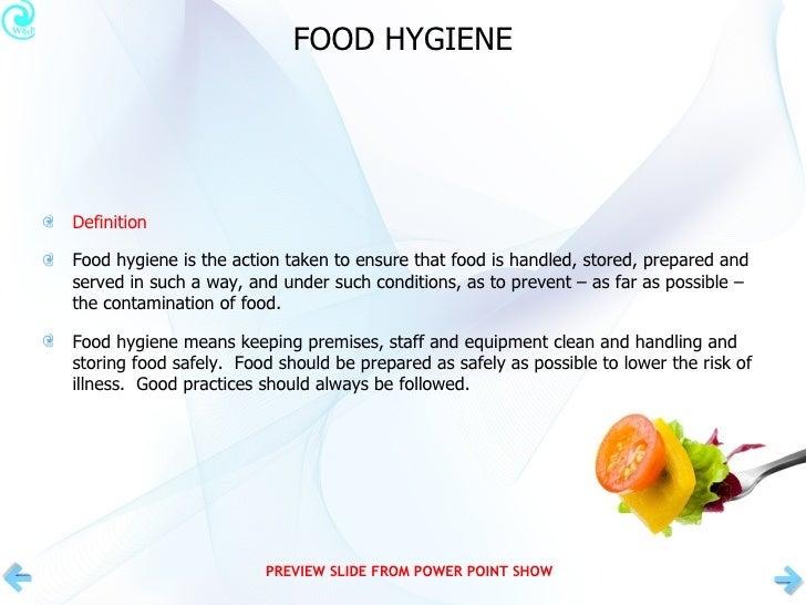 Basic Food Hygiene Awareness Preview