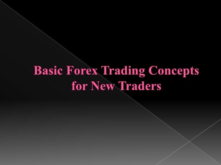 Basics of the forex market