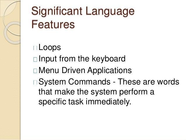 BASIC Programming Language