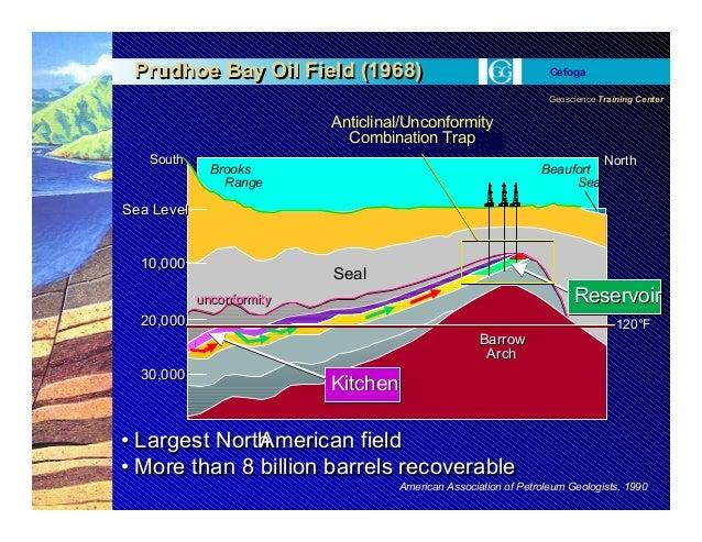 Geoscience Training Center Cefoga • Largest NorthAmerican field • More than 8 billion barrels recoverable • Largest NorthA...