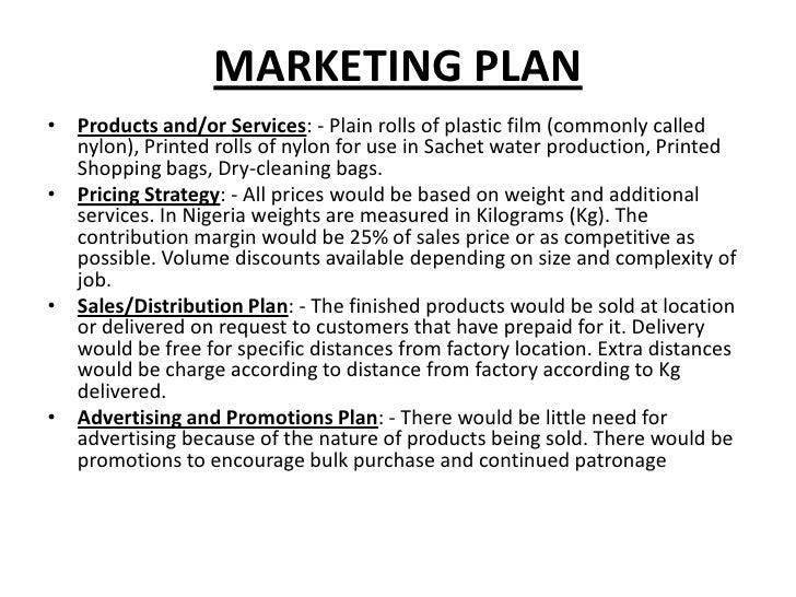 An essay on basic marketing