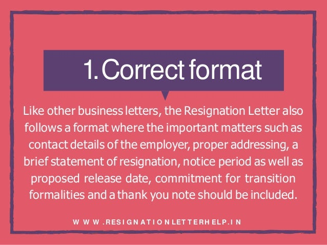 Why Notice Period Is Important | Basic Guidelines Of Resignation Letter Writing