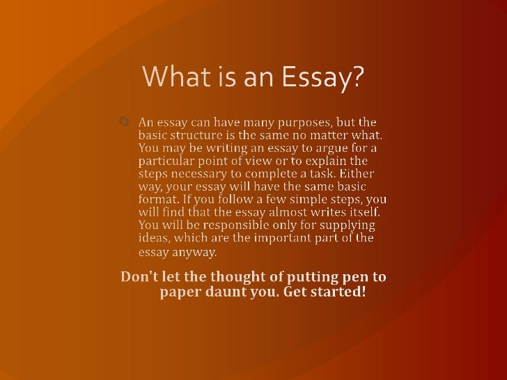 basic composition of an essay Basic essay structure the body of a basic essay may have as many body paragraphs as it is necessary to prove the author's argument of the thesis statement.