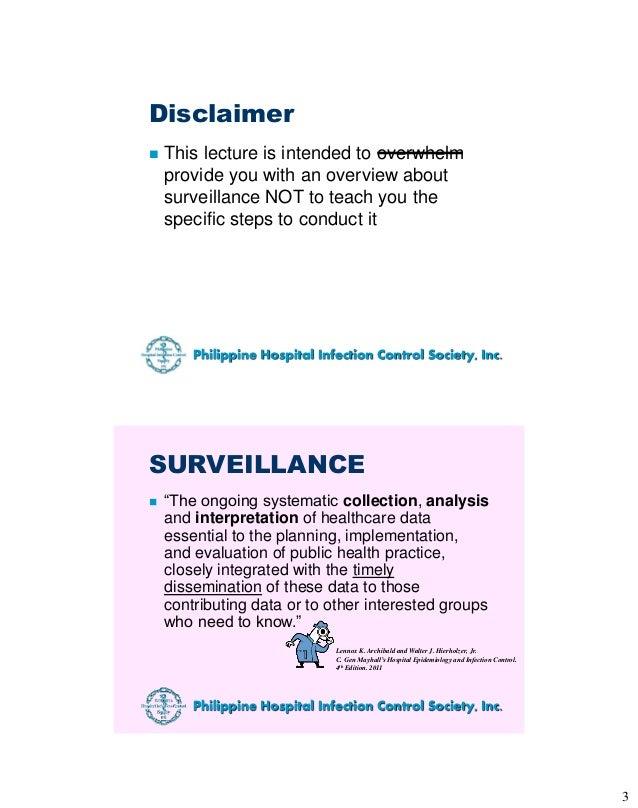 Basic HAI Surveillance Slide 3