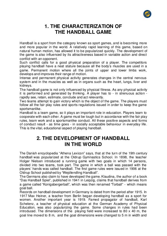 How to Play Handball: The Street Rules