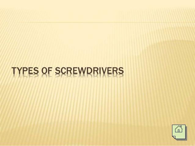 Basic hand tools (Electronics Technology) Slide 3