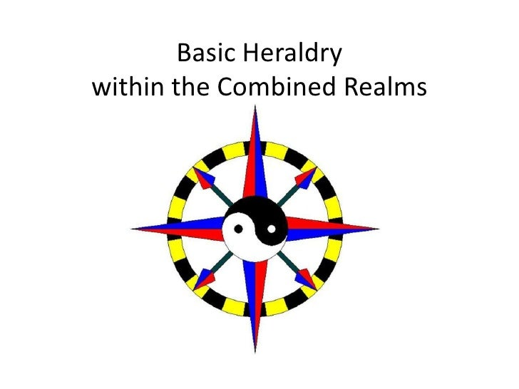 Basic Heraldrywithin the Combined Realms
