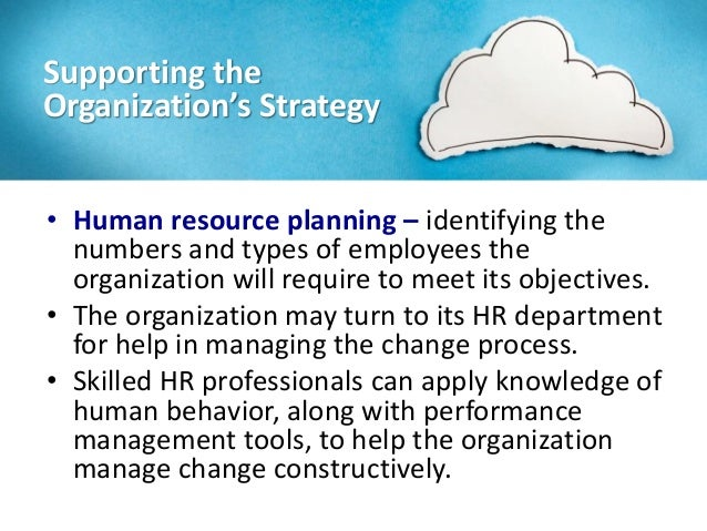 what is human resource planning identify its Human resource planning is a process that identifies current and future human resources needs for an organization to achieve its goals human resource planning should serve as a link between human resource management and the overall strategic plan of an organization.