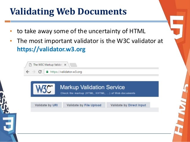 Why is validating web documents important