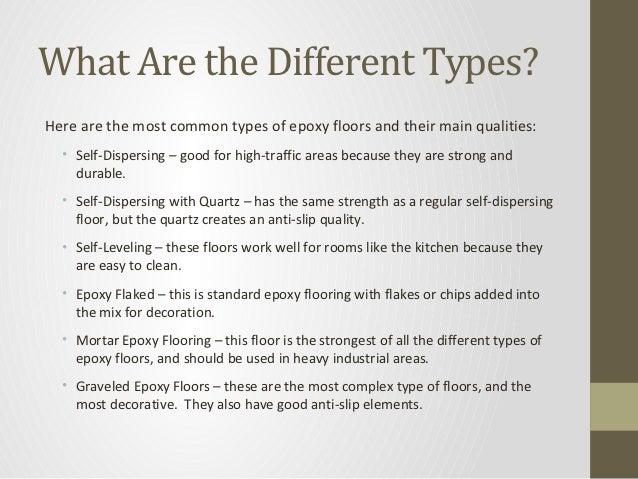 Basic information about epoxy flooring