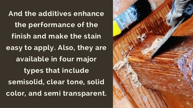 Basic Information About Exterior Wood Stains
