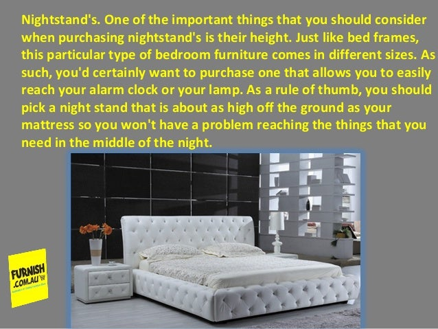 types of bedroom furniture. 4  Basic information to Consider When Purchasing Different Types of Bed