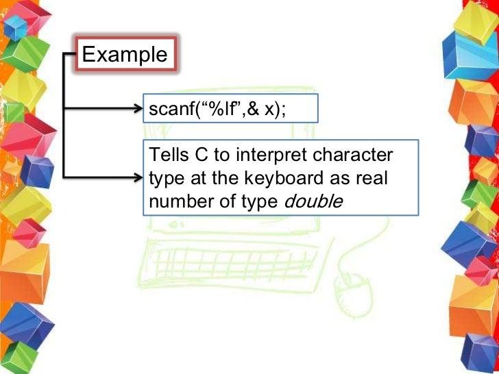 Basic Input and Output