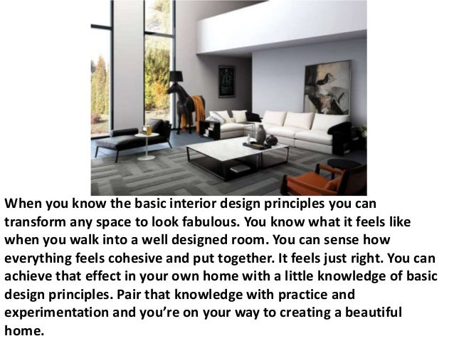 elements and principles of interior design - Google Search BASIC ...