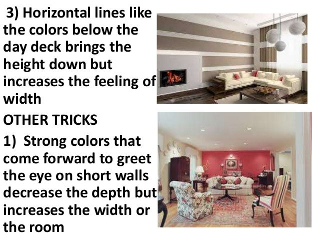 BASIC INTERIOR DESIGN RULES; 2.