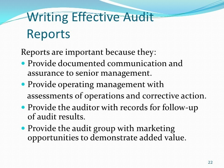 auditing introduction letter essay We will write a custom essay sample on computerized auditing specifically for  the introduction of computer technology into accounting systems changed the way data .