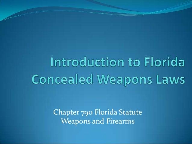CHAPTER 790 FLORIDA STATUTES EBOOK DOWNLOAD
