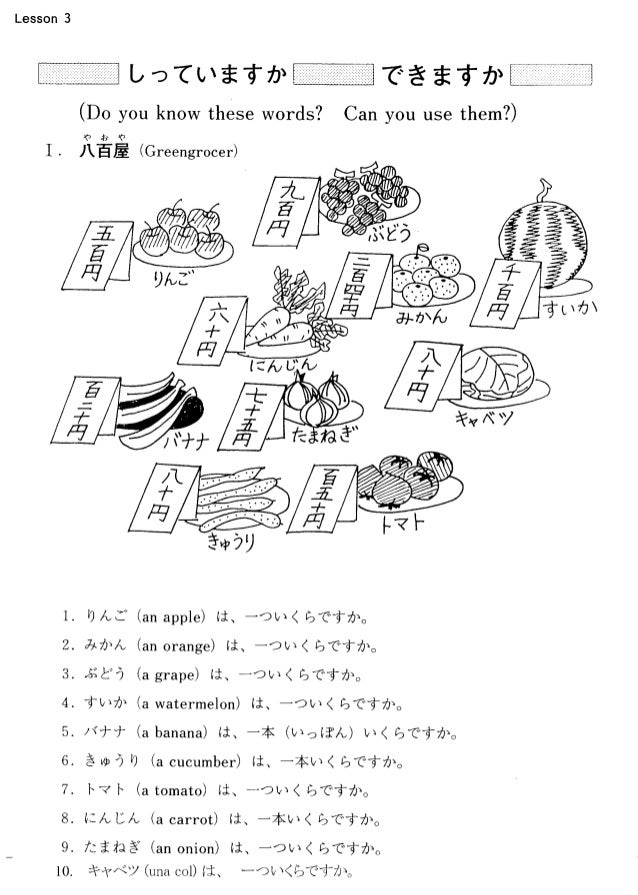 view vocabulary basics for