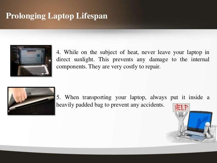 Basic laptop maintenance and tips