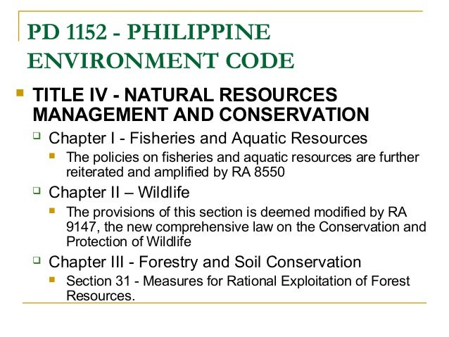 Law On Environmental Protection And Rational Use Of Natural Resources