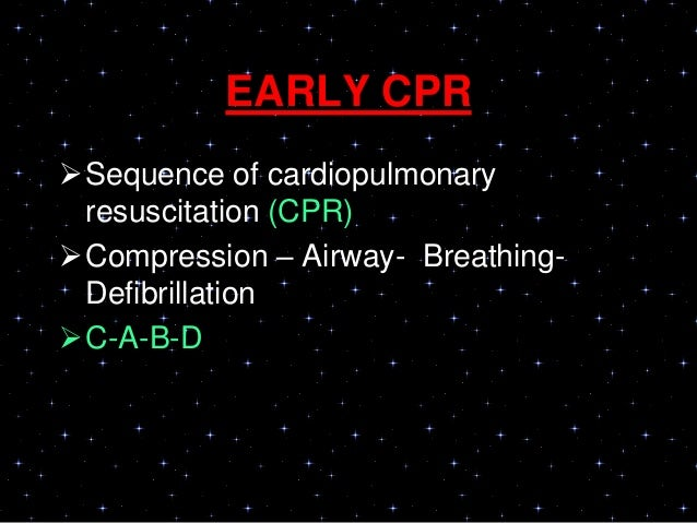 • Rescuers should allow complete recoil ofthe chest after each compression, toallow the heart to fill completely before th...