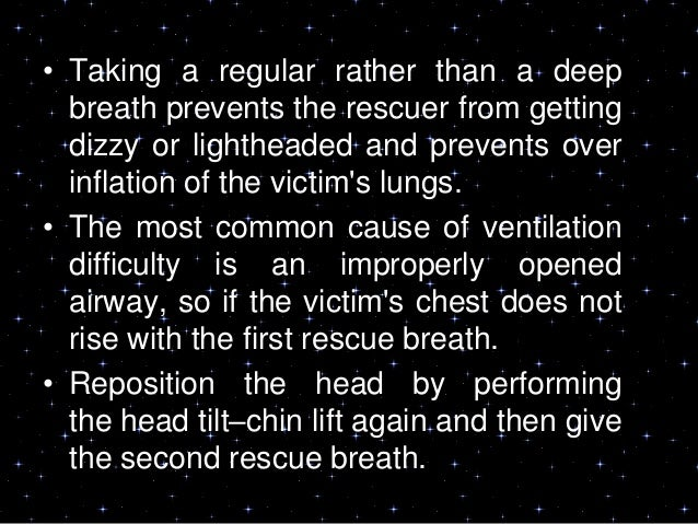 """INFANT AND CHILD BASICLIFE SUPPORT• """"If the victim is unresponsive and notbreathing (or only gasping), begin CPR.• Sometim..."""