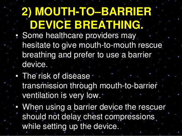 OPEN THE AIRWAY AND GIVEVENTILATIONS• For the lone rescuer a compression-to-ventilation ratio of 30:2 is recommended.• Aft...