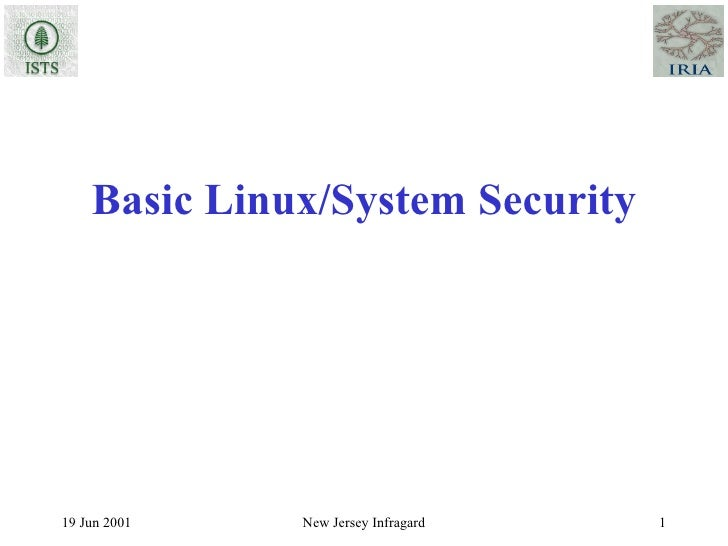 Basic Linux/System Security