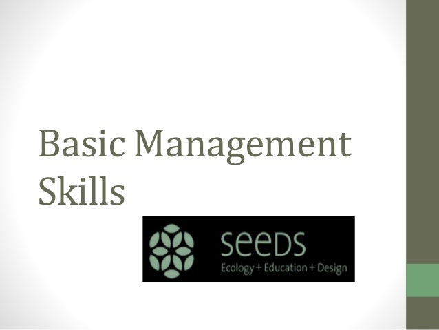 the five basic management skills Learn more about a guide to the project management body of knowledge  skills, tools, and  project management processes fall into five groups: initiating.
