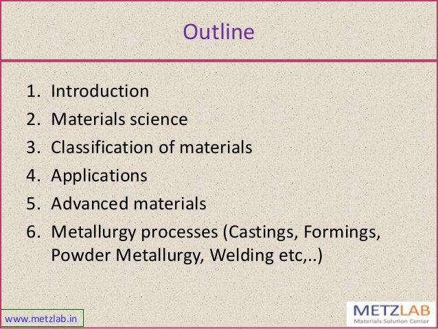 Basic metallurgy Slide 2
