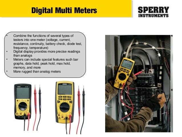 Types Of Electrical Testers : Types of electrical testers and images automotive