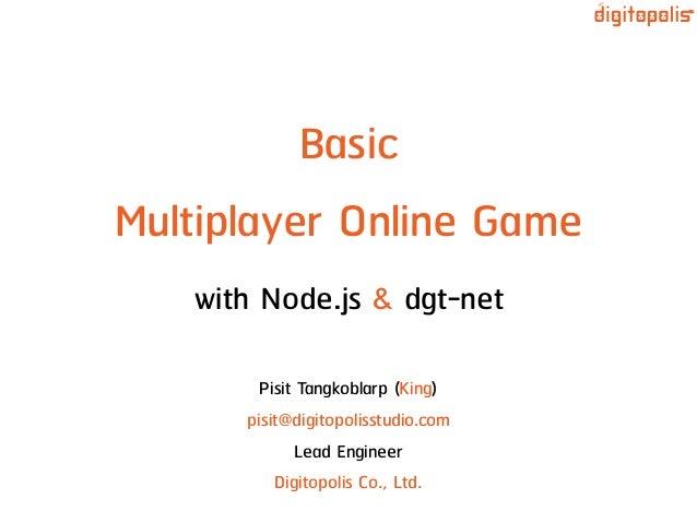 Basic Multiplayer Online Game with Node js & dgt-net
