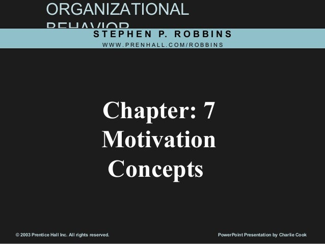 an introduction to the concepts of motivation Advertisements: introduction: after employees are hired and trained, it is important to motivate them to get the desired efforts from them, to.