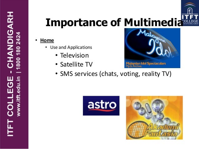 Importance of multimedia in computing
