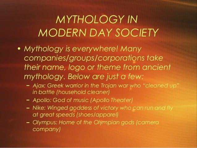 examples of greek mythology in modern society